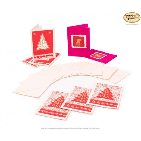 Weihnachts-Postkarten aus Nepal