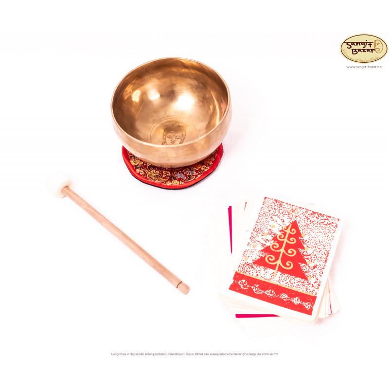"""Klangschalen-Weihnachts-Set """"Innerer Frieden"""""""