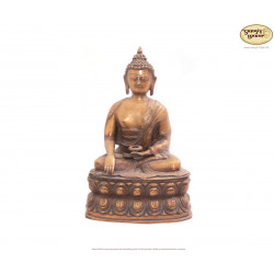 Original Messing Statue Buddha 39cm