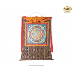 Thangka Kala Chakra ca. 64cm x 64cm aus Nepal by Madhu Chitrakar