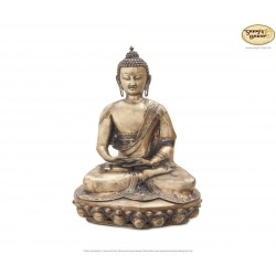 Original Messing Statue Amitabha 52cm