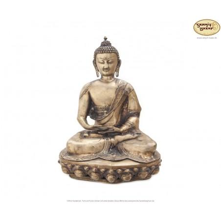 Original Messing XL-Statue Amitabha 52cm