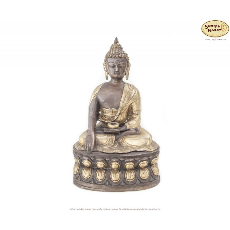 Original Messing Statue Akshobhya 40cm