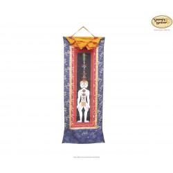 Thangka Yoga Purush ca. 24cm x 93cm aus Nepal