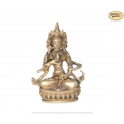 Original Messingstatue Vajrasatva 14cm