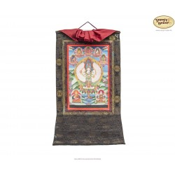 Thangka Lokeshwore ca. 37cm x 48cm aus Nepal by Madhu Chitrakar
