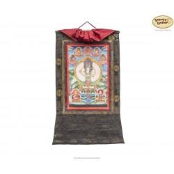 Thangka Lokeshwore ca. 37cm x 48cm aus Nepal