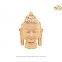 Kleiner Ton-Buddhakopf