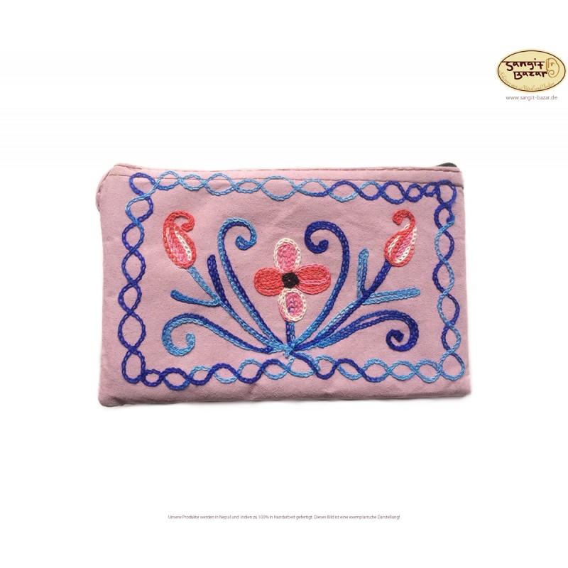 Hübsches Damen-Handtäschchen mit Stickerei aus Indien