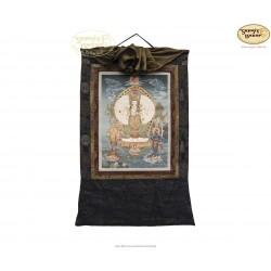 Thangka Lokeshwore ca. 42cm x 60cm aus Nepal