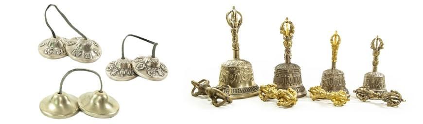Zimbeln, Glocken & Ganthas