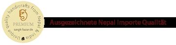 Nepal Importe Qualitätssiegel