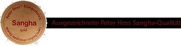 Peter Hess Sangha Meditationsklangschalen
