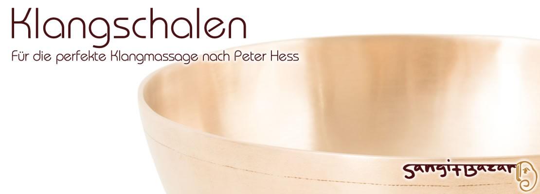 Klangschalen - für die perfekte Klangmassage nach Peter Hess