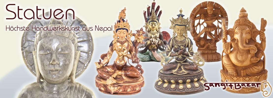 Statuen - höchste Handwerkskunst aus Nepal