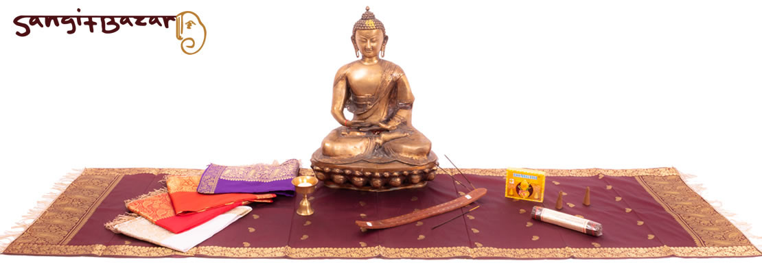 GROSSES AMITABHA-BUDDHA MEDITATIONS-SET